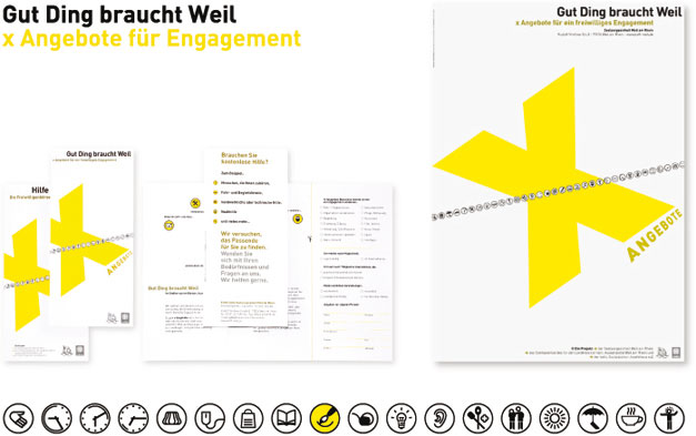 Corporate Design Gut Ding braucht Weil