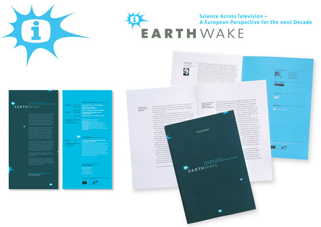 Corporate Design Earthwake - Science Across Television