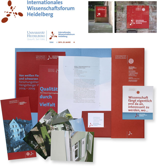 Corporate Design Internationales Wissenschaftsforum Heidelberg