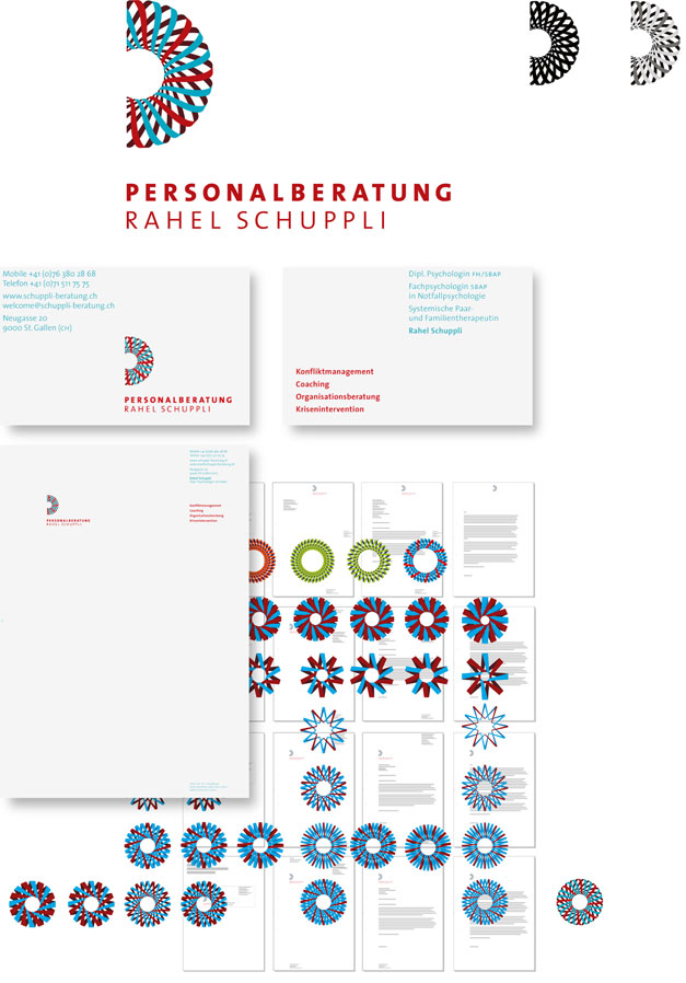 Corporate Design Schuppli Personalberatung
